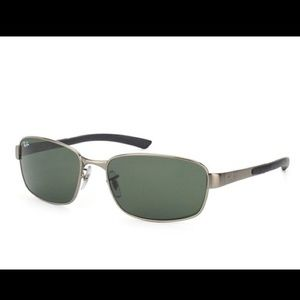 Ray Ban Men's Rectangle Sunglasses RB3413